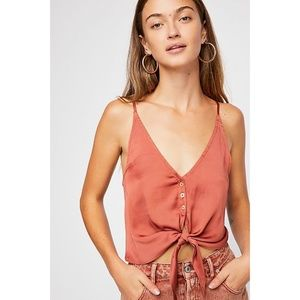 Free People Two Tie For You Cami